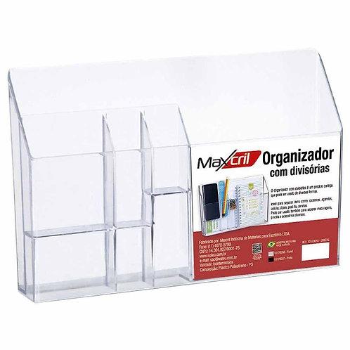 Organizador C/ Divisórias Cristal - MAXCRIL