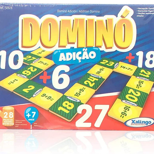 Jogo Dominó Adição - XALINGO