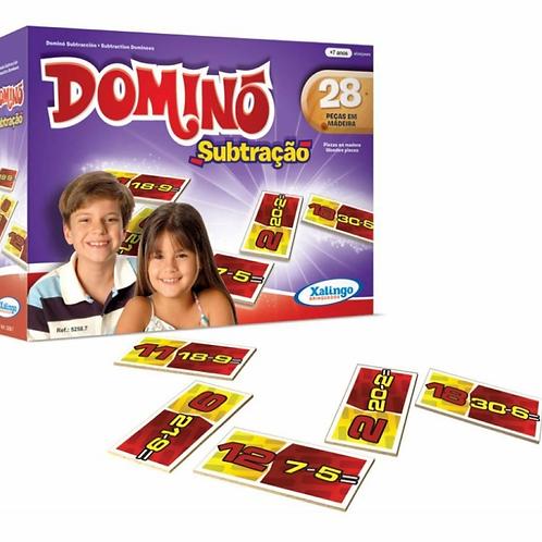 Jogo Dominó Subtração - XALINGO