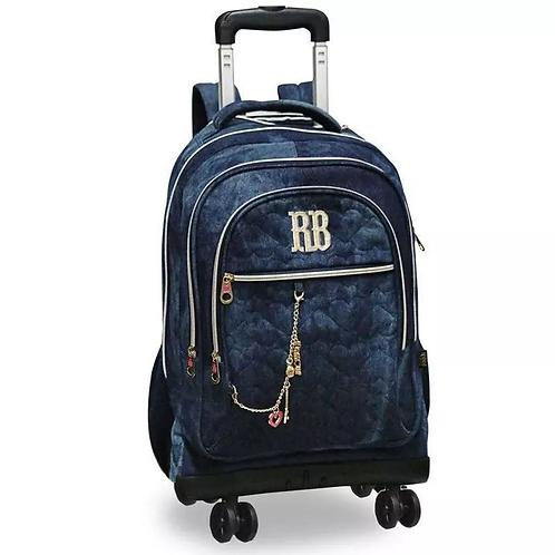 Bolsa de Rodas Jeans Clio RB2090 | REBECCA BONBON