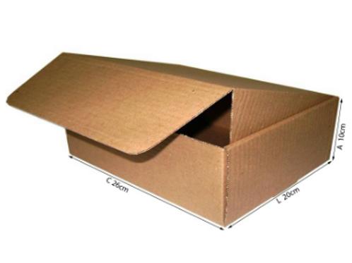 Caixa Correio 2 - 26 cm x 20 cm x 10 cm - DELLA