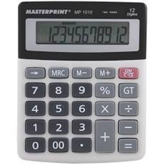 Calculadora 12 Dígitos MP-1010 - MASTERPRINT