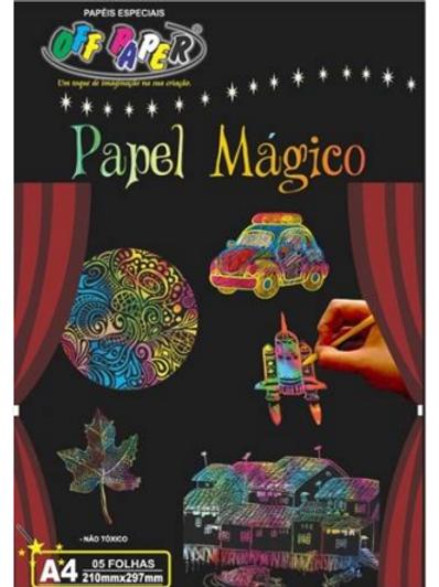 Papel Mágico - A4 5 Filhas C/ Bastão - OFF PAPER