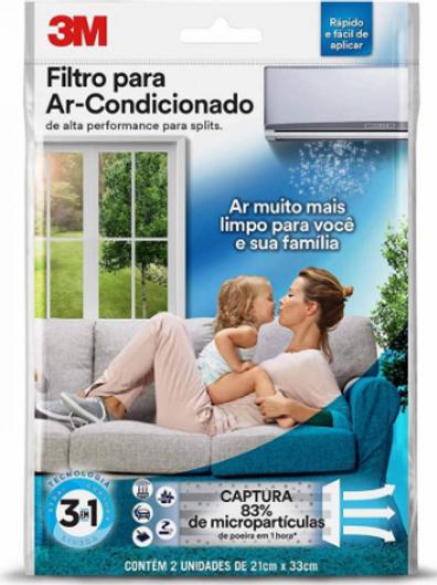 Filtro P/ Ar Condicionado - 3M