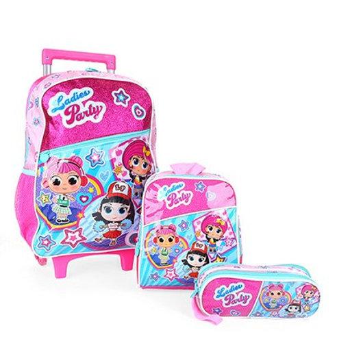 Kit Mochila Infantil Ladies Party - CLIO