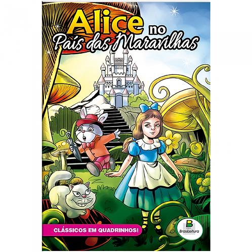 Clássicos em Quadrinhos - Alice no País das Maravilhas - TODOLIVRO