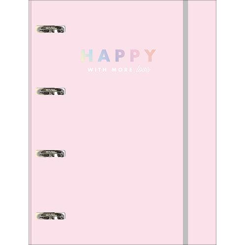 Caderno Fichário C/ Argola Happy - TILIBRA