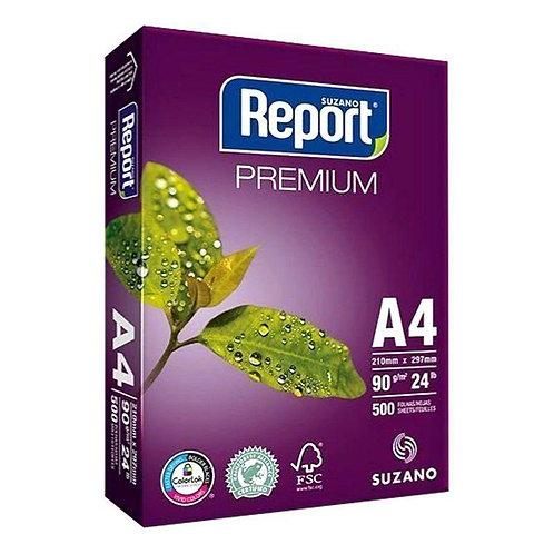 Sulfite A4 Branco 90g C/ 500 FLS - PREMIUM REPORT