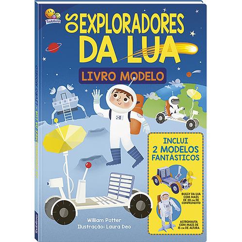 Livro Modelo Exploradores da Lua - TODOLIVRO