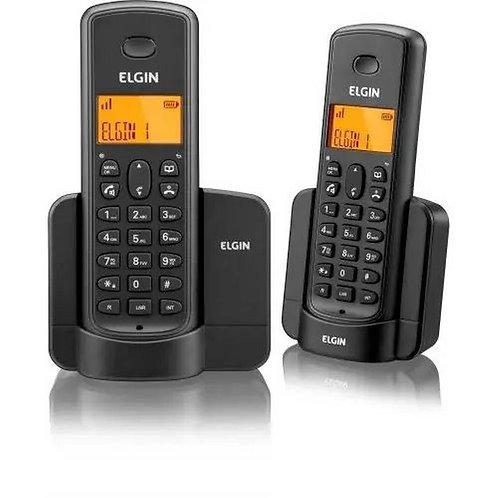Telefone Sem Fio 1 Ramal TSF 8002 Preto - ELGIN