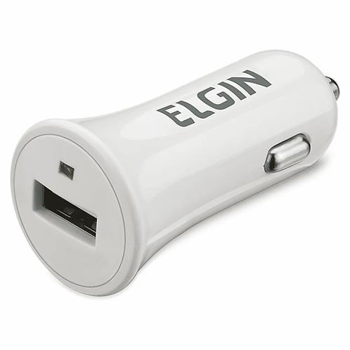Carregador USB Veicular - ELGIN
