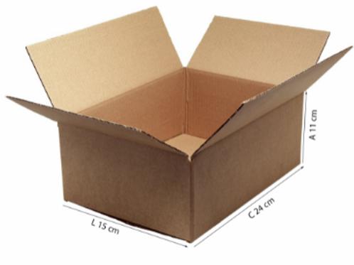 Caixa Transporte I 24 cm x 15 cm x 11 cm - DELLA