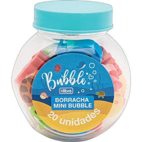Borracha Mini Bubble C/ 20 unidades - TILIBRA