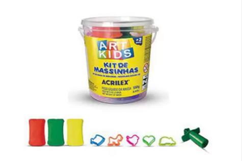 Kit de Massinhas 150G - ACRILEX