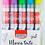 Thumbnail: Marca Texto Glitter C/ 5 Cores - BRW