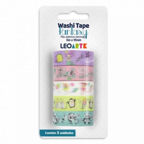 Washi Tape C/5 UND Fantasy - LEONORA