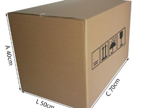 Caixa Triplex 3 70 cm x 50 cm x 40 cm - DELLA