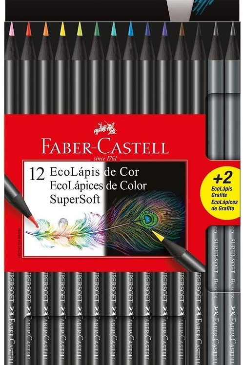 Lápis de Cor SuperSoft - FABER CASTELL