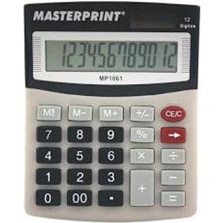 Calculadora 12 Dígitos MP-1061 - MASTERPRINT