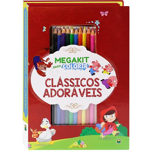 MegaKit P/ Colorir - Clássico Adoráveis - TODOLIVRO