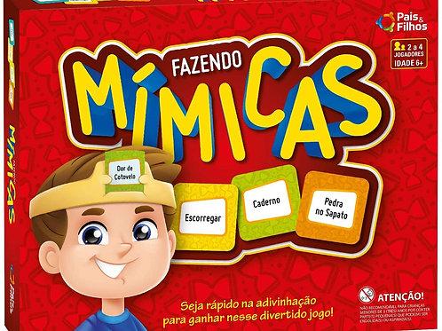 Jogo Fazendo Mimicas - PAIS E FILHOS