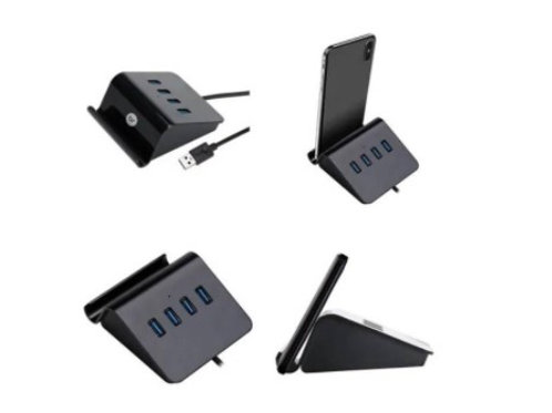 Hub de Mesa C/ 4 Portas USB - BRIGHT