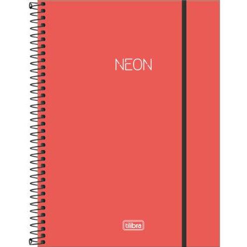 Caderno Univ. 1 Matéria Neon 80 Folhas - TILIBRA
