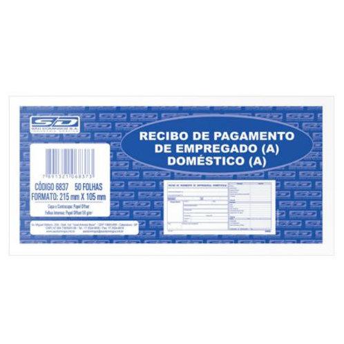 Recibo de Pagamento C/ 50 Folhas - SÃO DOMINGOS