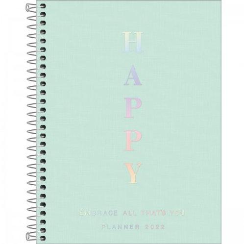 Agenda Espiral Planner Happy - TILIBRA