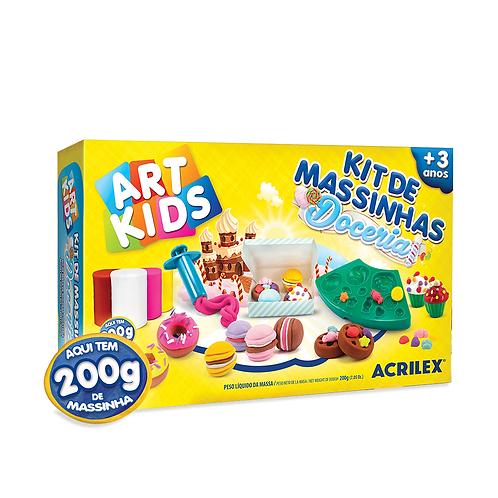 Kit de Massinhas Doceria Art Kids - ACRILEX