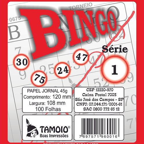Bingo Jornal 120x108mm | TAMOIO