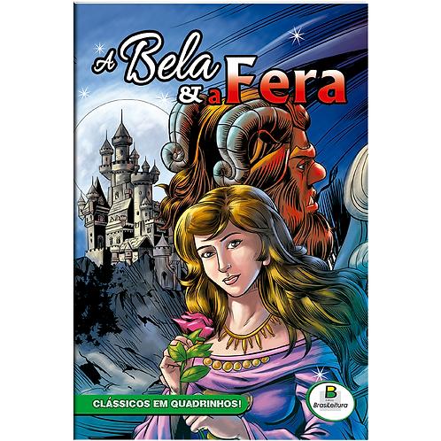 Clássicos em Quadrinhos: A Bela e a Fera | TODOLIVRO