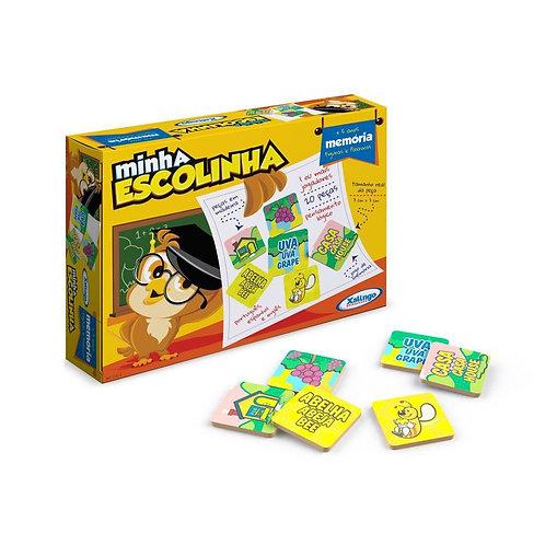 Brinquedo Memória Figuras e Palavras - XALINGO