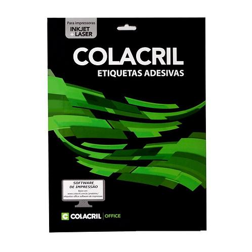Etiqueta A4 C/ 10 Folhas - COLACRIL