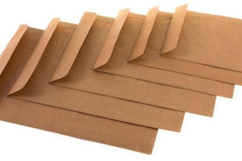 Envelope Pardo - Diversos Tamanhos