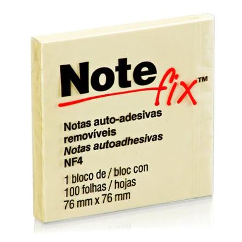 Bloco Adesivo Notefix™ Amarelo - 76 x 76mm - 100 Folhas   3M