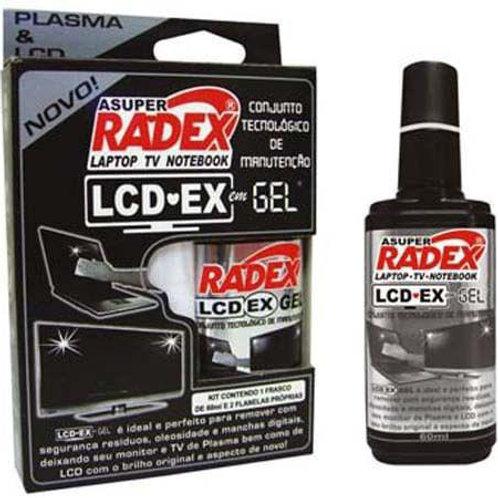 Limpador Instantâneo para Telas LCD-EX C/ 1 Frasco de 60ml - RADEX