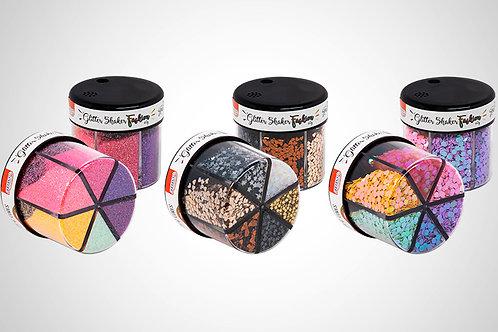 Glitter Shaker Fashion 60g - 6 Cores   BRW