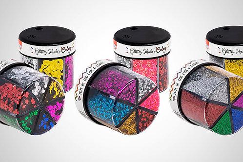 Glitter Shaker Colors 60g C/ 6 Cores   BRW
