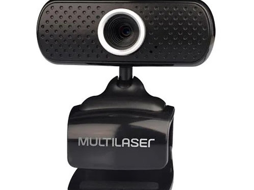 WebCam 480p  C/ Microfone USB - MULTILASER