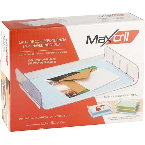 Caixa de Correspondência Empilhável Individual Cristal - MAXCRIL