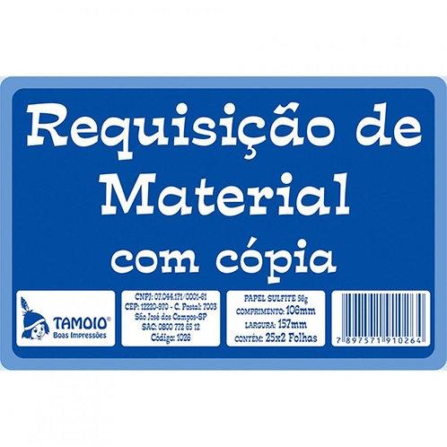 Requisição de Material Com Cópia C/ 25x2 Folhas - TAMOIO