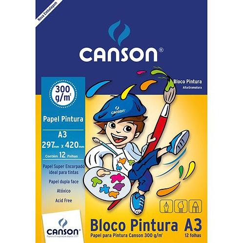 Bloco de Pintura A3 300G - CANSON