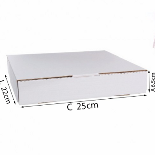 Caixa Salgado e Doce N° 2 - 25x22x6,5cm - 25 und - DELLA