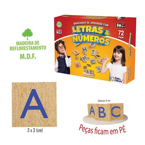 Brincando de Aprender com Letras e Números | PAIS E FILHOS