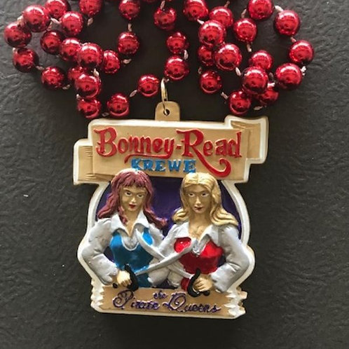 Bonney-Read Krewe Medallion Beads