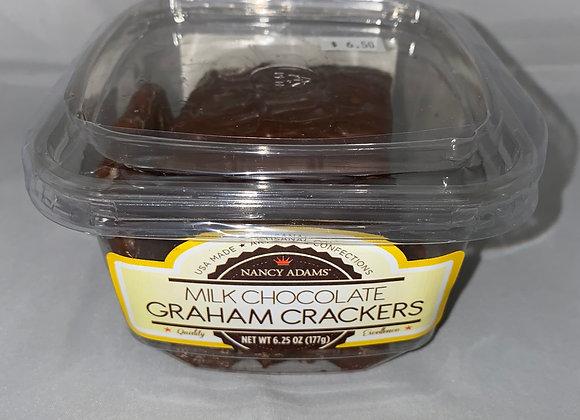 Milk Chocolate Covered Graham Crackers