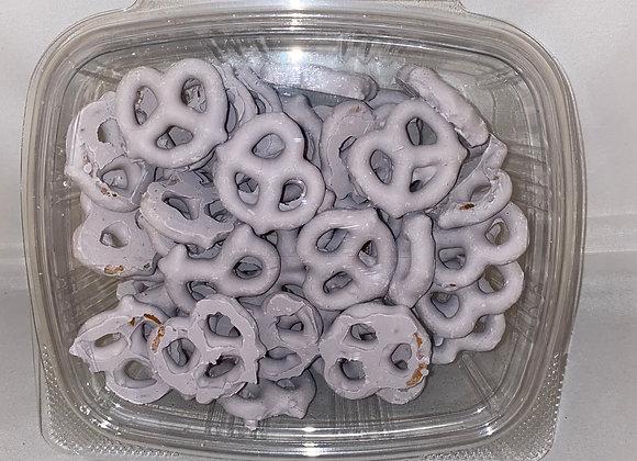 Blueberry Yogurt Covered Pretzels