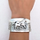 Thumbnail: Cuff Mare and Foal Bracelet