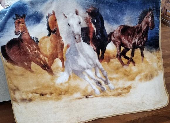 Wild Horses Throw!